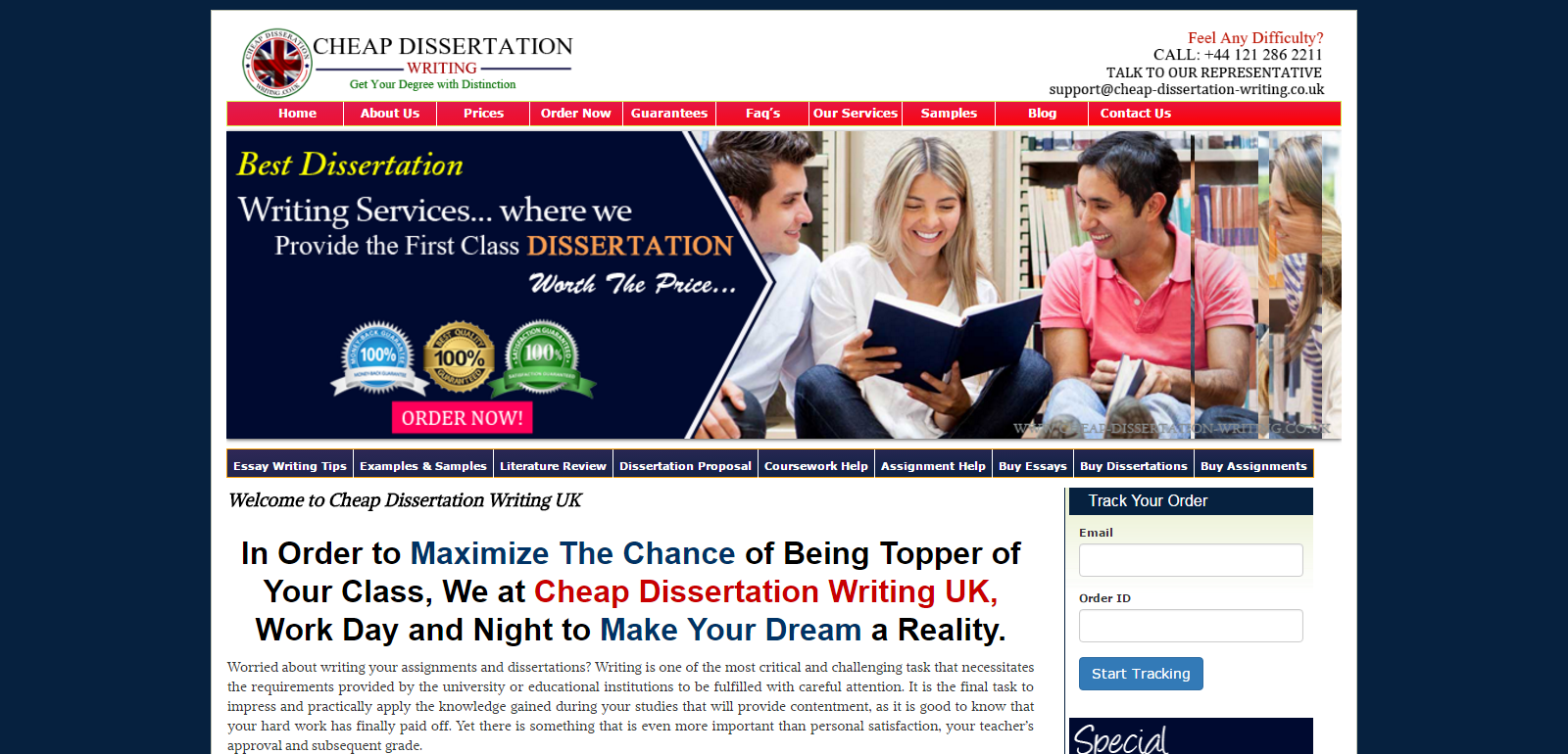our services cheap dissertation writing uk